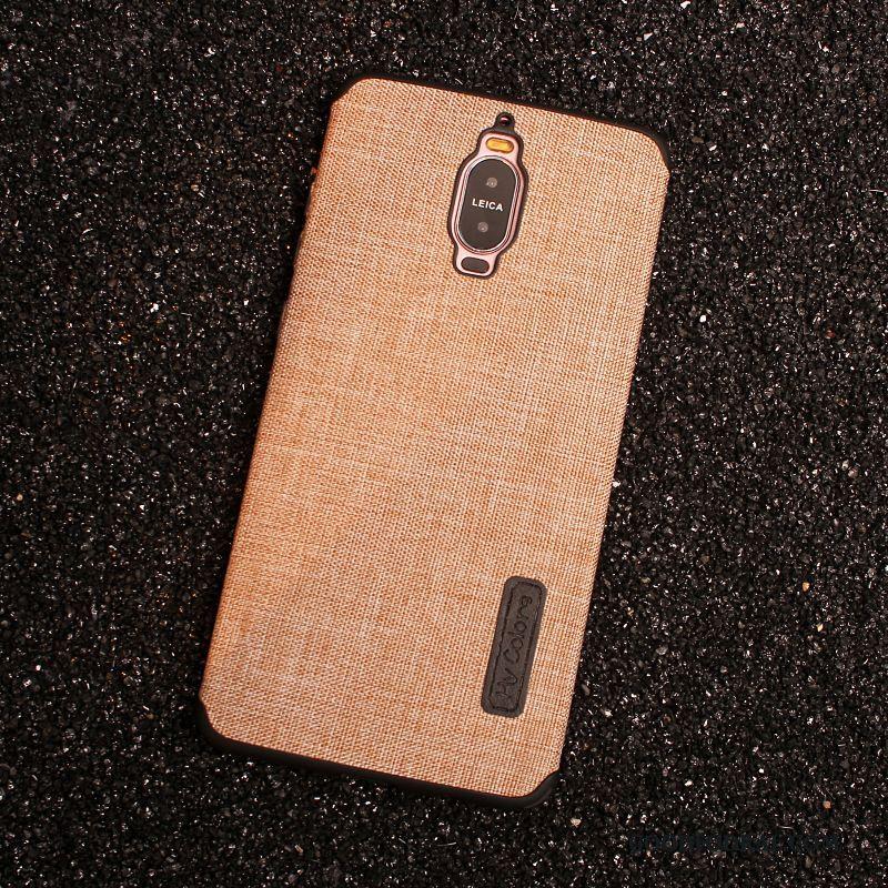 Skal Till Huawei Mate 9 Pro Silikon Mobil Telefon Fodral Bomull Och Linne  Telefon Kaki Rea ed1bdcac87731