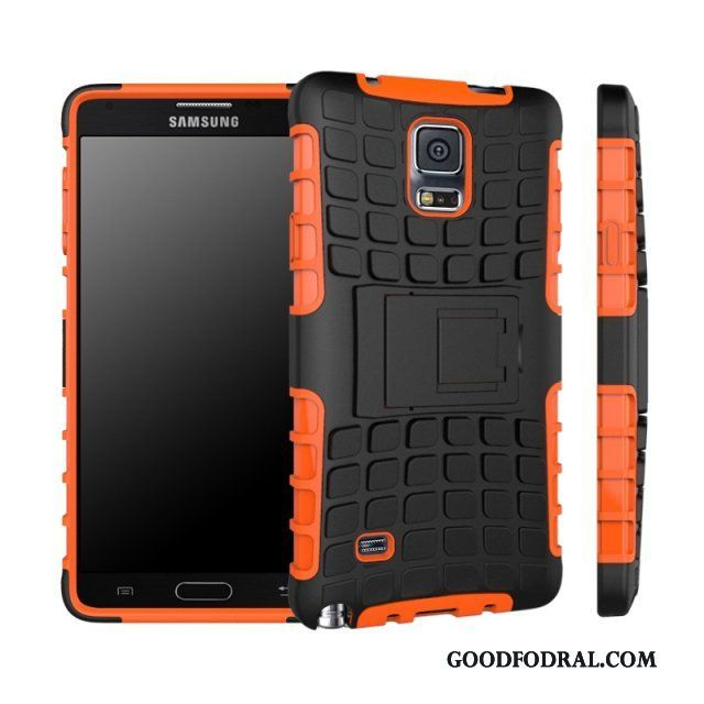 Skal Till Samsung Galaxy Note 4 Fodral All Inclusive Orange Stjärna Personlighet