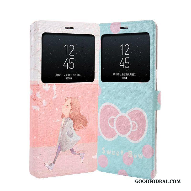 Skal Till Samsung Galaxy Note 8 Målade Stjärna Mjuk Skydd Support Täcka f9dc9b78f8186