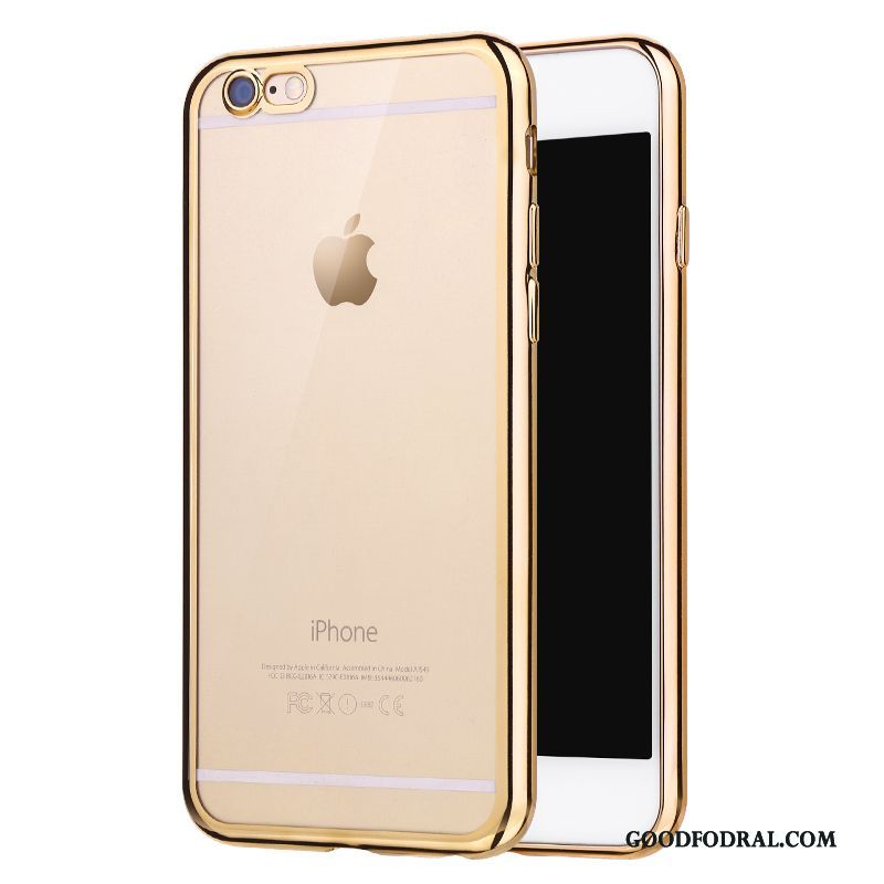 Skal Till iPhone 6/6s Plus Plating Silikon Slim Mjuk Fallskydd All Inclusive