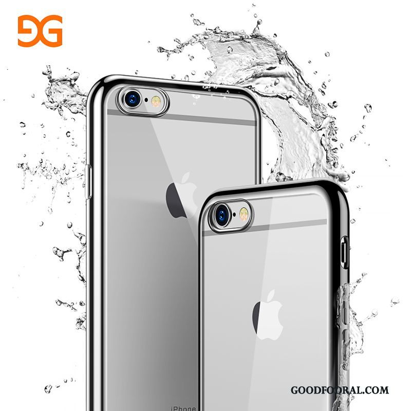 Skal Till iPhone 6/6s Plus Trend Fallskydd Telefon Transparent Mjuk All Inclusive