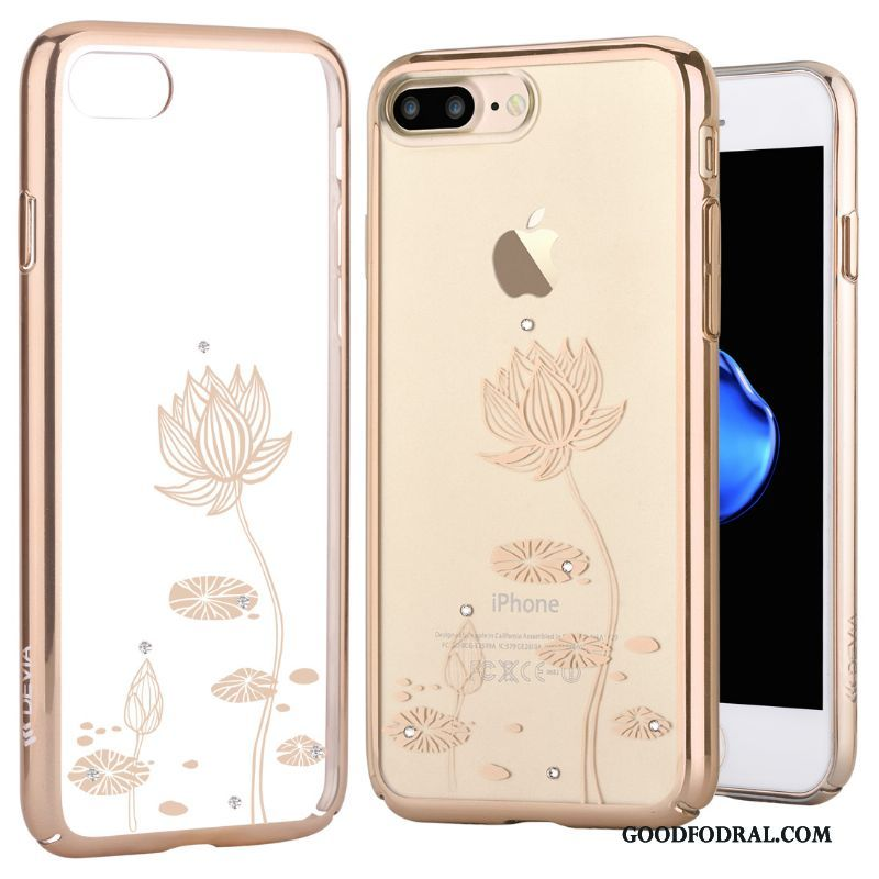 Skal Till iPhone 7 Plus Skydd Plating Lyxiga All Inclusive Strass Telefon